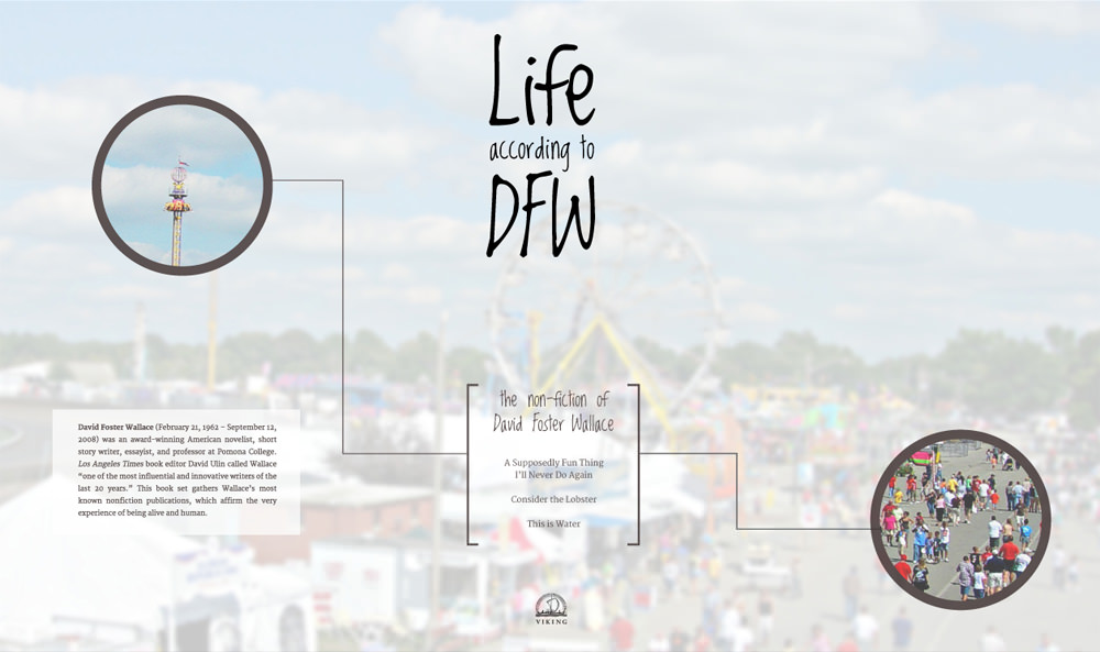 Life According to DFW packaging