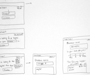 Sketch of search result flow