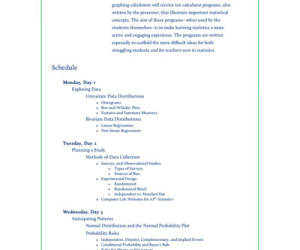 Image of course syllabus page