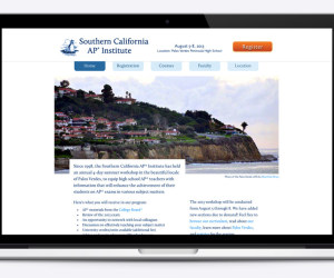 Southern California AP Institute website
