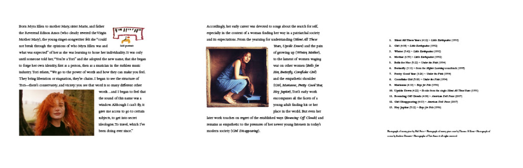 Girl booklet interior