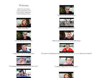 Screenshots of fan interviews from Tori live concert film