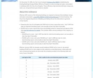 EBEWE informational webpage